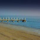 The Pier by Rukshan Fernando