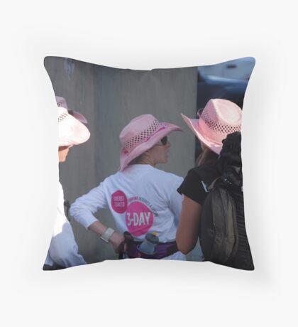 Breast cancer, everyone deserves a lifetime < Throw Pillow