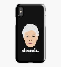 Dame Judi Dench iPhone Case