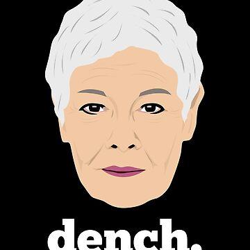 Dame Judi Dench by gregs-celeb-art