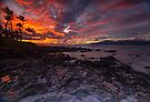 Maui Napilii Coast Sunset by photosbyflood