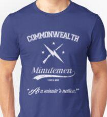 Commonwealth Minutemen Unisex T-Shirt