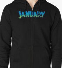 January Zipped Hoodie
