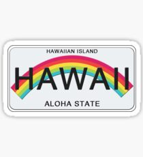 Aloha State Stickers Redbubble