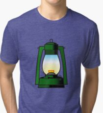 Let there be light Tri-blend T-Shirt