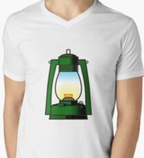 Let there be light Mens V-Neck T-Shirt