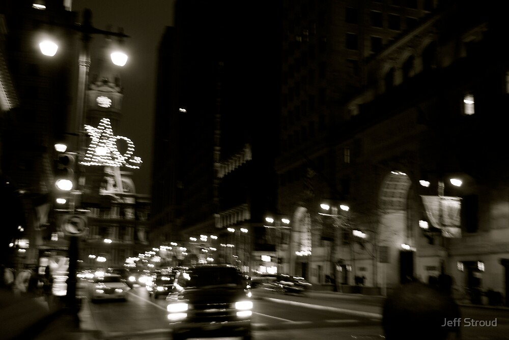 night city, on the move.  by Jeff stroud