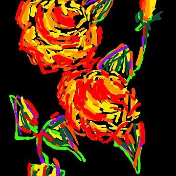 Roses by Dorejaeger