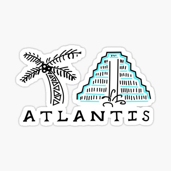 Atlantis in the Bahamas Sticker