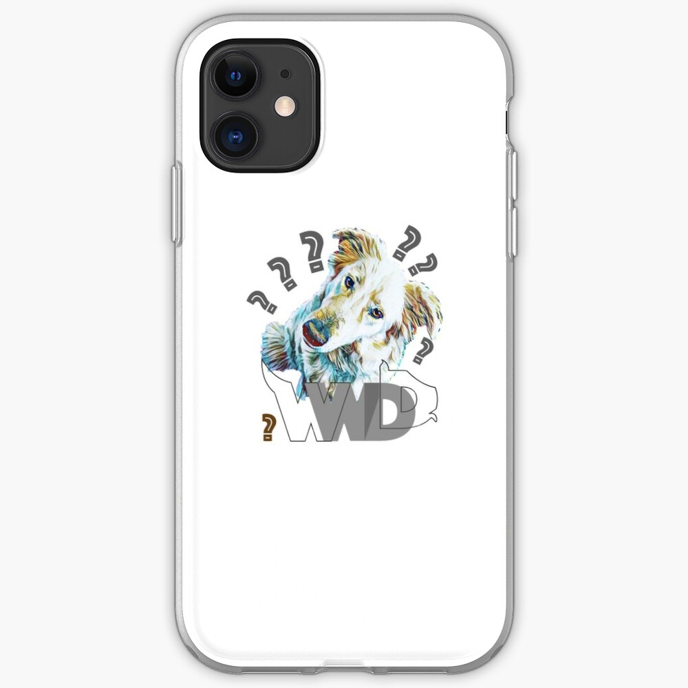 What Would Dogs Do? Mascot  iPhone Case & Cover