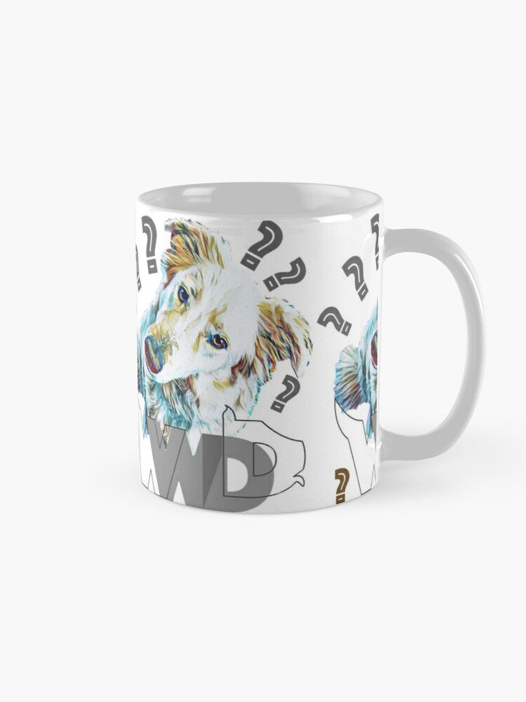 Alternate view of What Would Dogs Do? Mascot  Mug