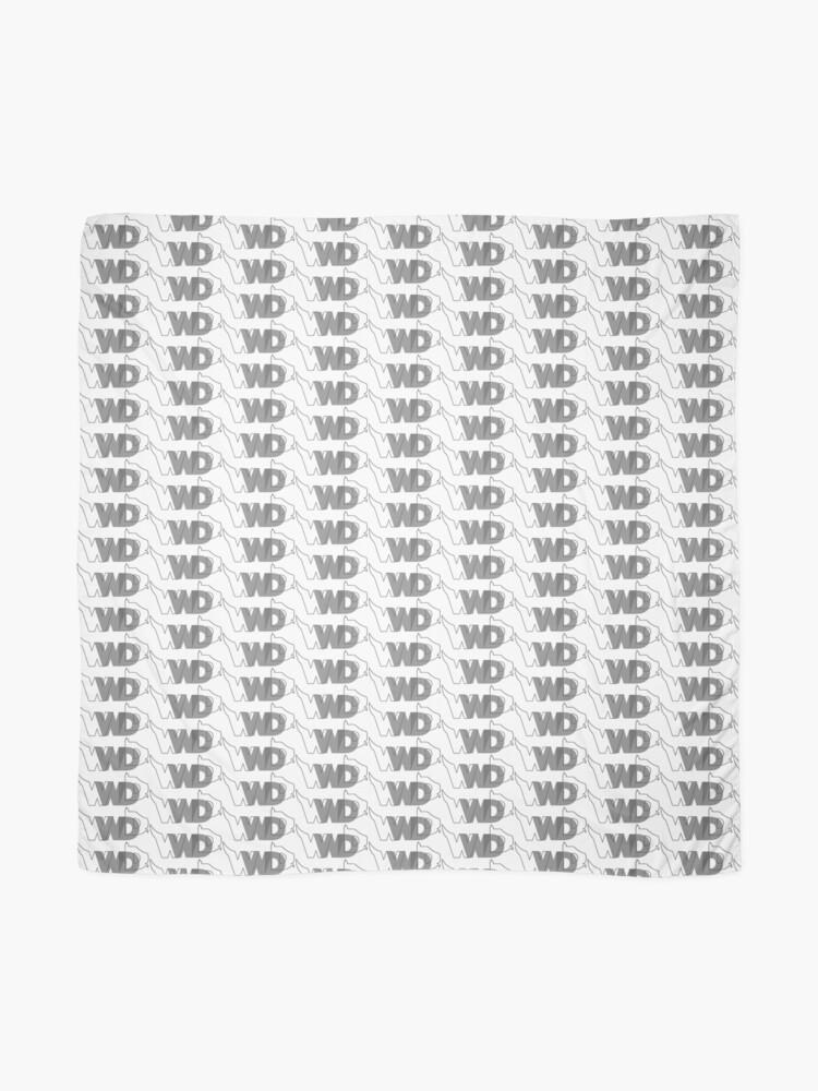 Alternate view of WWDD? logo Scarf