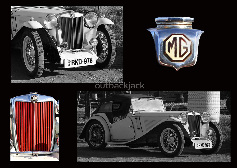 MG - Celebration of a vintage car by outbackjack