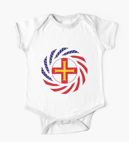 Guernsey American Multinational Patriot Flag Series Kids Clothes