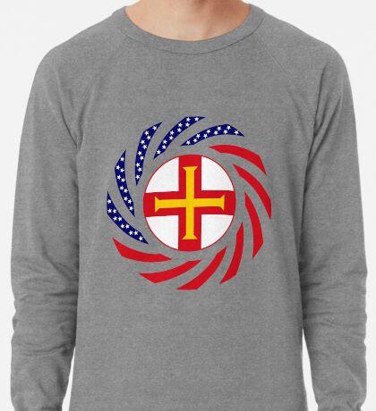 Guernsey American Multinational Patriot Flag Series Lightweight Sweatshirt