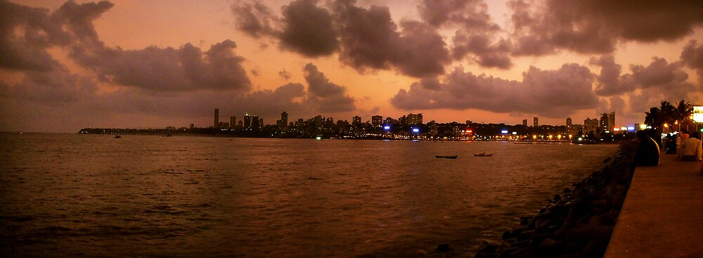 Marine Drive by Ronojoy