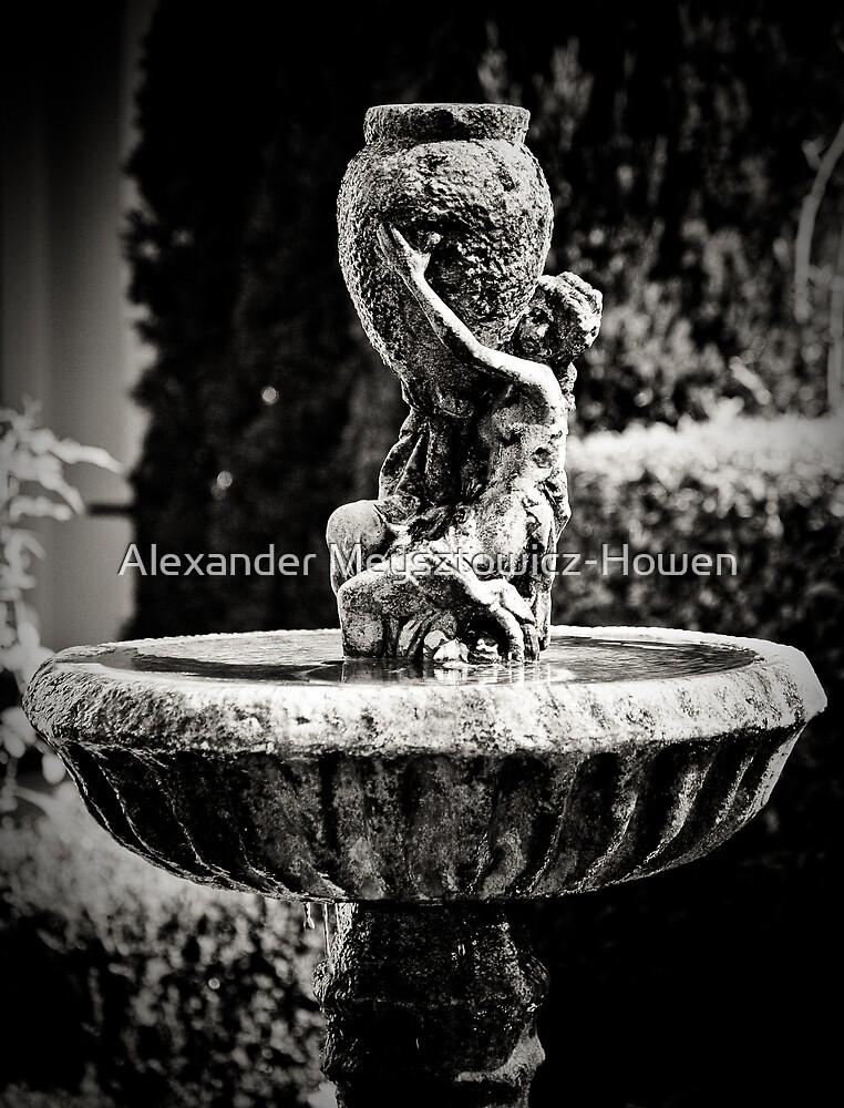 Garden sculpture by Alexander Meysztowicz-Howen