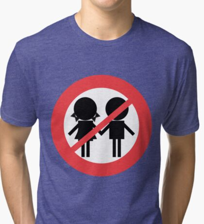 Children Banned Tri-blend T-Shirt