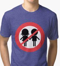 Children Banned Tri-blend T-Shirt