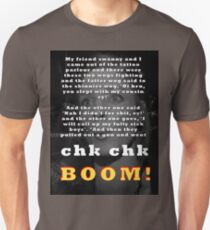 Tell it again!! Unisex T-Shirt