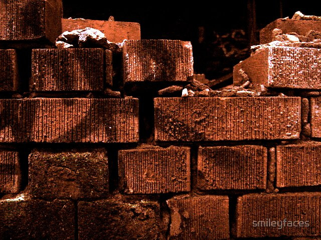 Another Brick in the Wall by smileyfaces