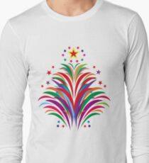 Fireworks Happy Occation  Long Sleeve T-Shirt