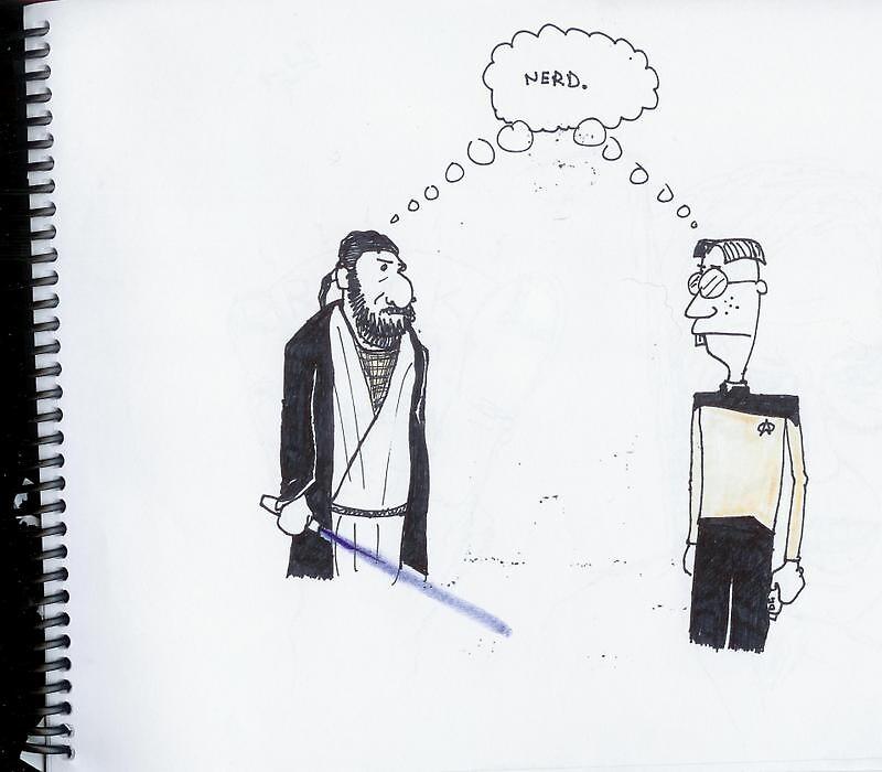 The great debate by KingKracka
