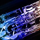 Rainbow Sax Keys by MidnightMelody