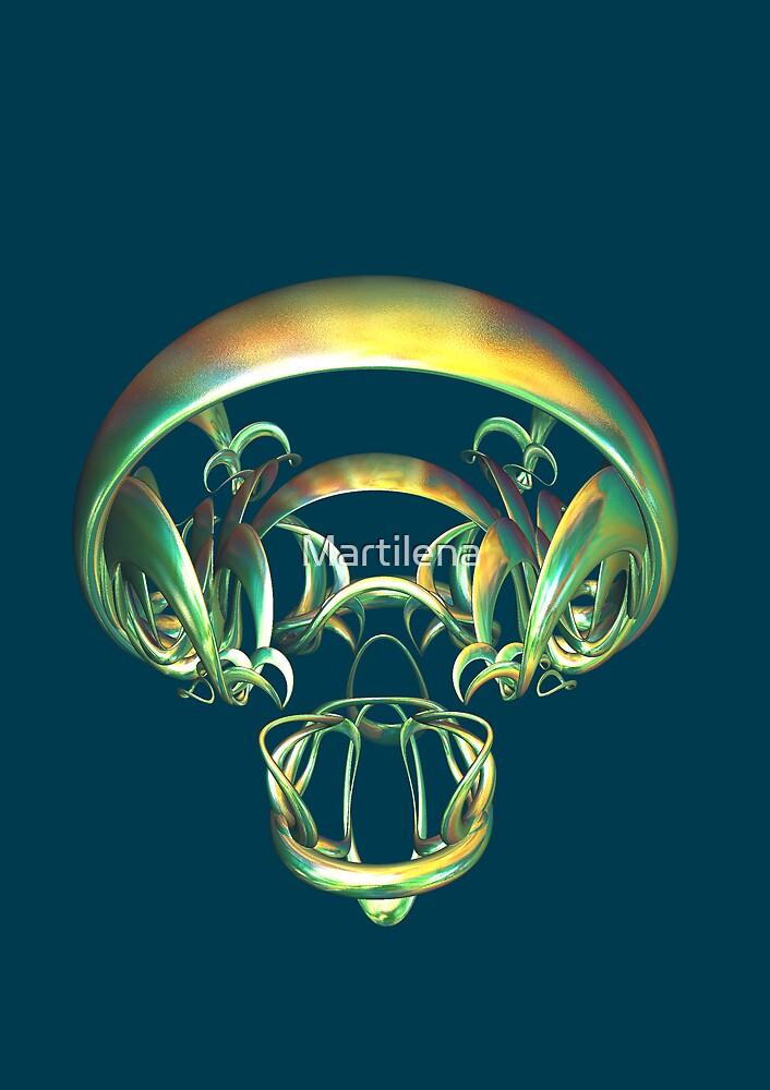 Legal Alien's Skull by Martilena