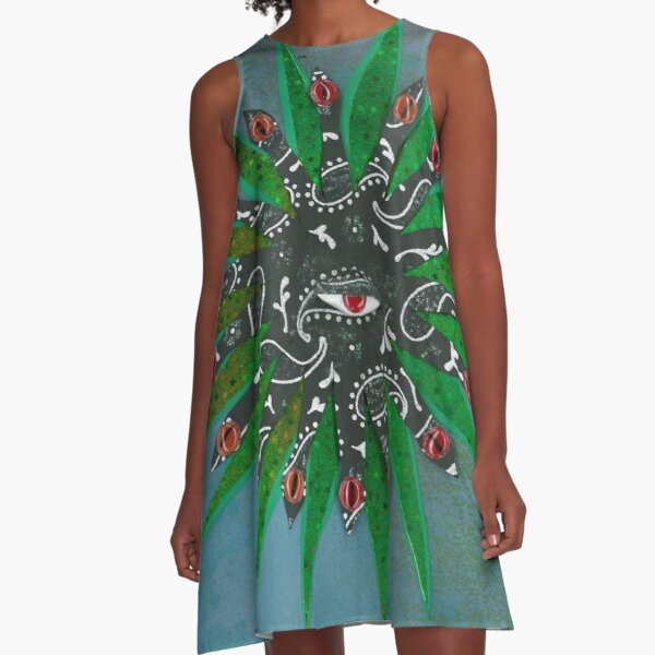 The Biologist A-Line Dress