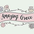 Amazing Grace in a Flower Arrangement by Pamela Maxwell
