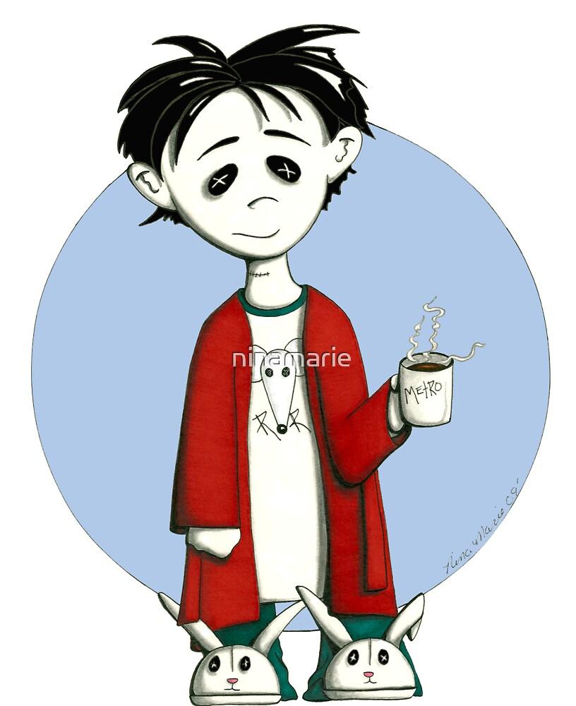coffee zombie by ninamarie