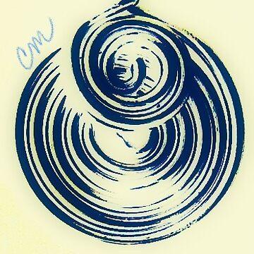 Swirl on Swirl by Camillemeola
