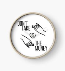 "Bleachers ""Don't Take the Money"" Clock"