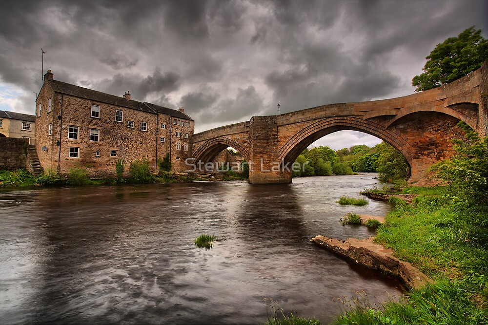Bridge over the River Tees by Stewart Laker