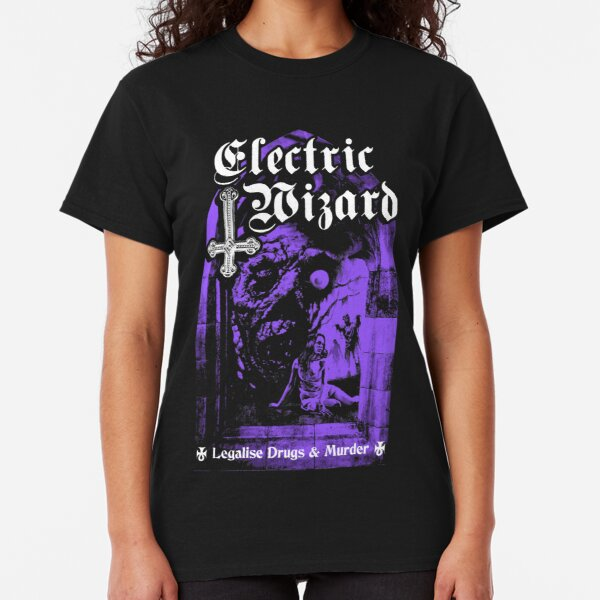 Electric Wizard - Legalise it  Classic T-Shirt