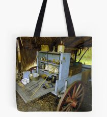 Chuckwagon Tote Bag