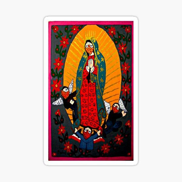 Virgen de Guadlupe Pegatina