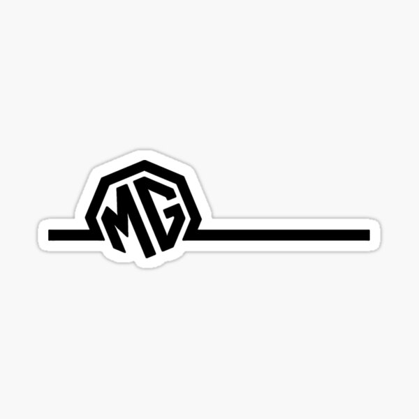 MG tow the line Sticker