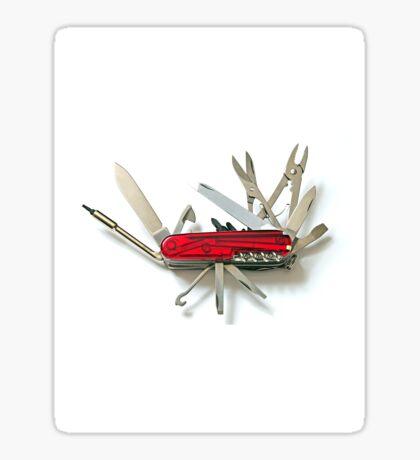 Multipurpose knife Sticker