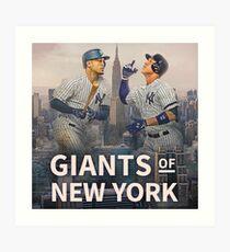 Giants of NY Art Print
