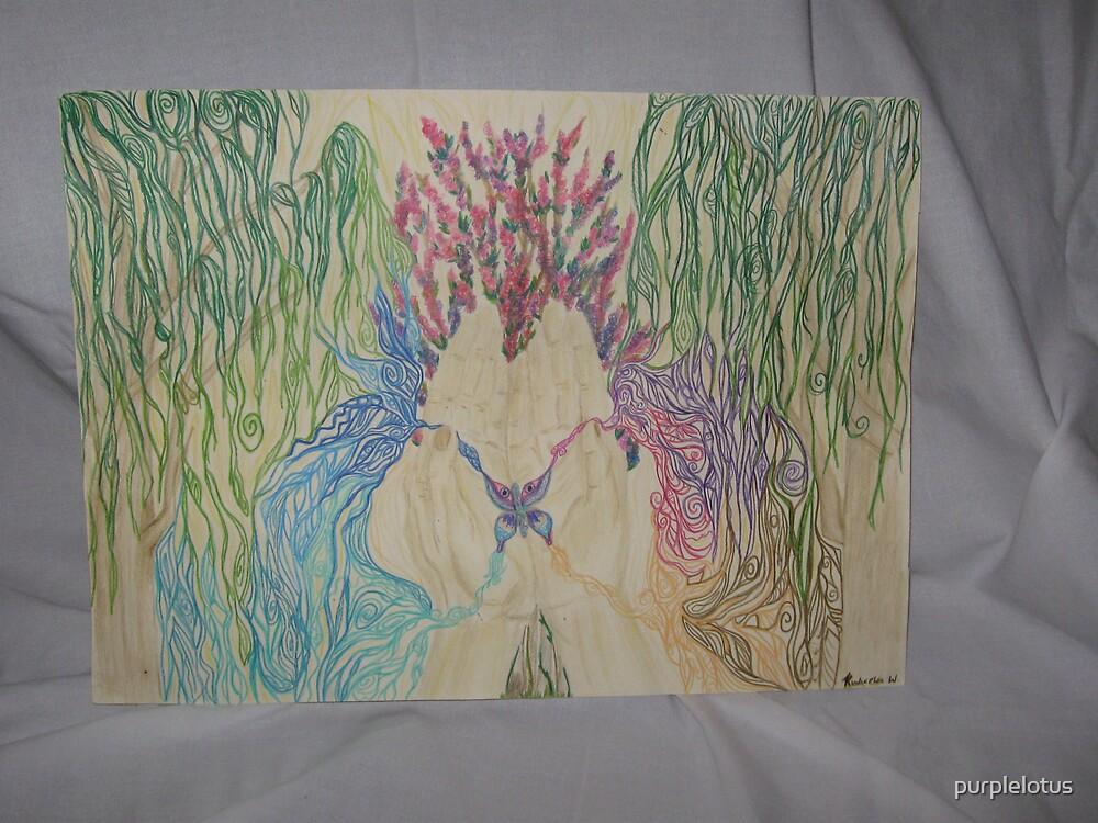 Flourishing butterfly by purplelotus