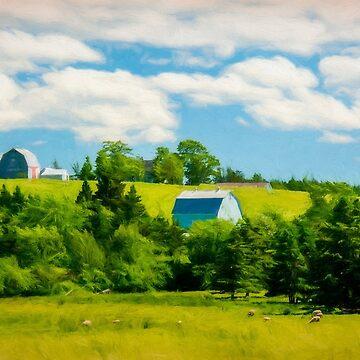 Country Farm in Nova Scotia by kenmo