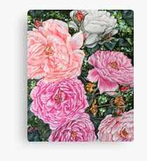 SPRING BACK TO LIFE - PEONIES by H.LIN Canvas Print