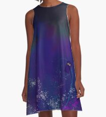 T.A.R.D.I.S. in Space A-Line Dress