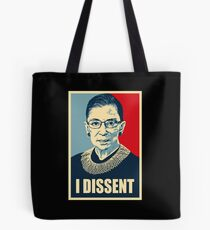 I DISSENT - Notorious RBG  Tote Bag