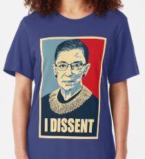 I DISSENT - Notorious RBG  Slim Fit T-Shirt