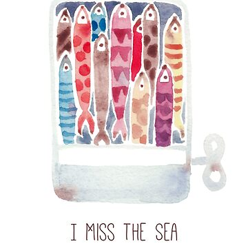 I miss the sea by jjsgarden