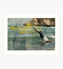Casting the Net Art Print
