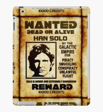 smuggler wanted iPad Case/Skin
